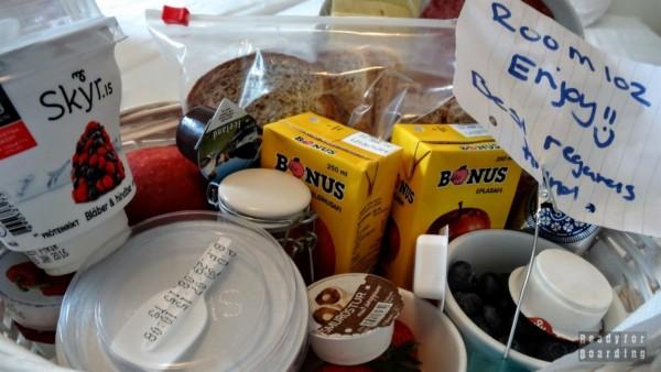 Islandzkie śniadanie w Guest House