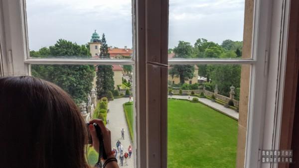Widok na dziedziniec, Zamek Książ