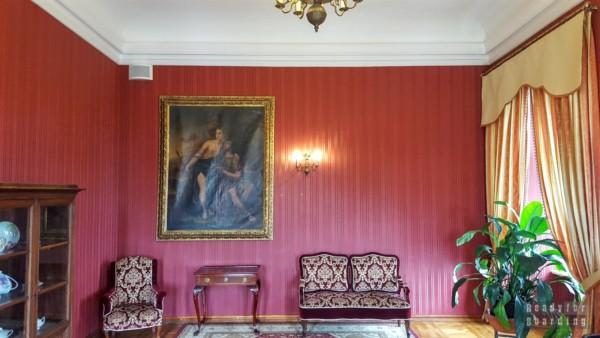 Wnętrza, Zamek Książ