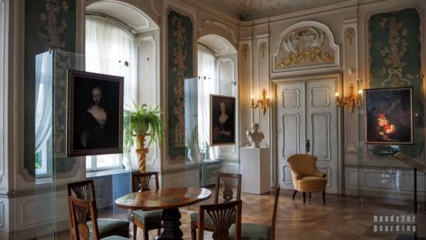 Salon Zielony, Zamek Książ
