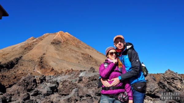 Podróżowanie w ciąży - Teide, Teneryfa