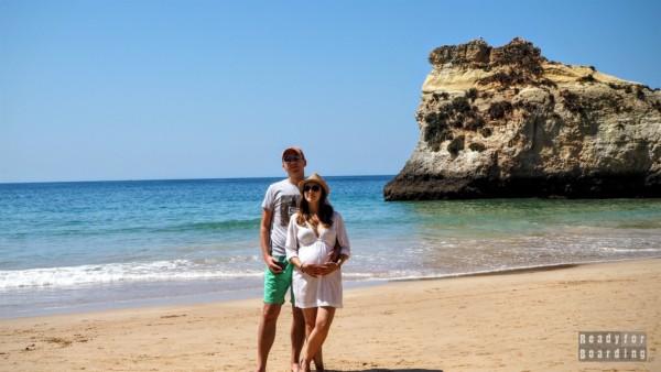 Podróżowanie w ciąży - Algarve, Portugalia
