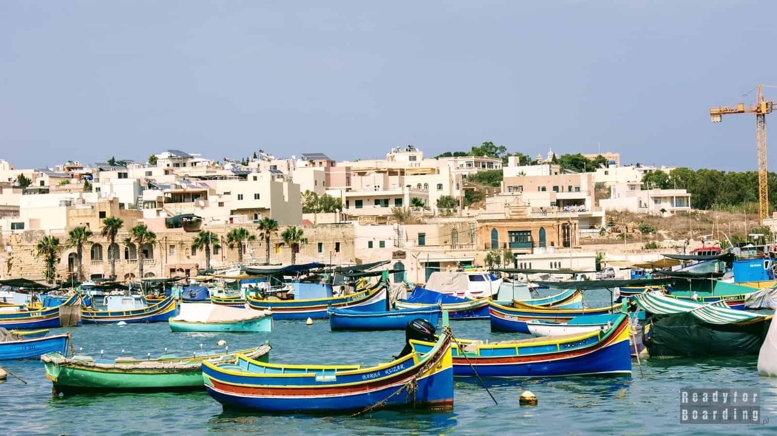 Malta - Marsaxlokk i Pretty Bay (galeria zdjęć)