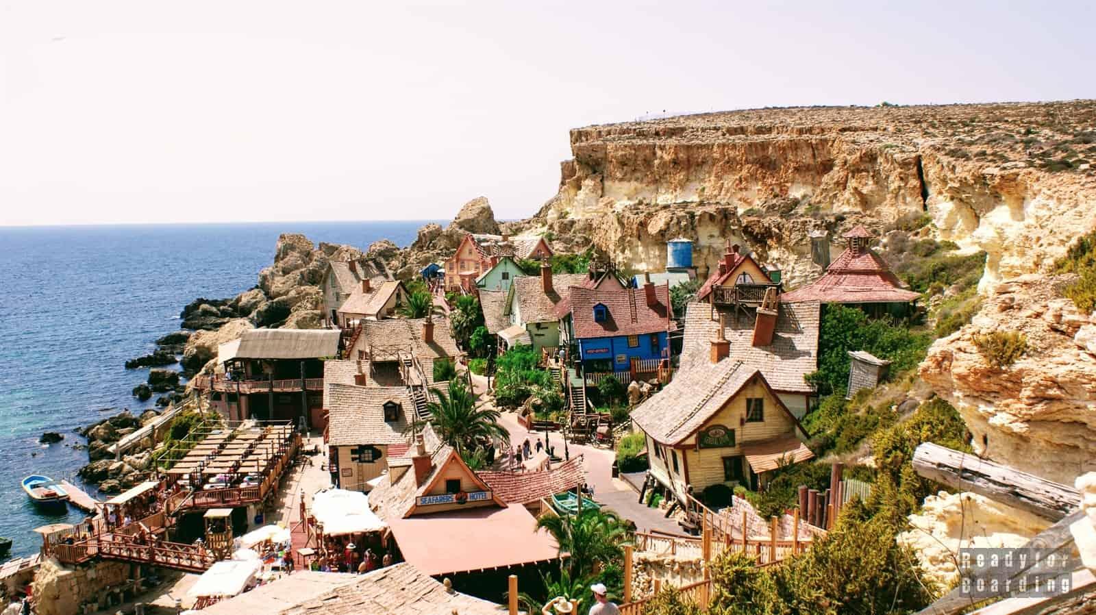 Malta - Plaże i Wioska Popeya (galeria zdjęć)