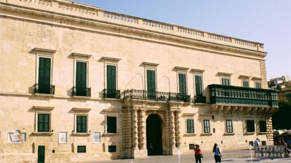 Pałac Wielkiego Mistrza, Valletta - Malta