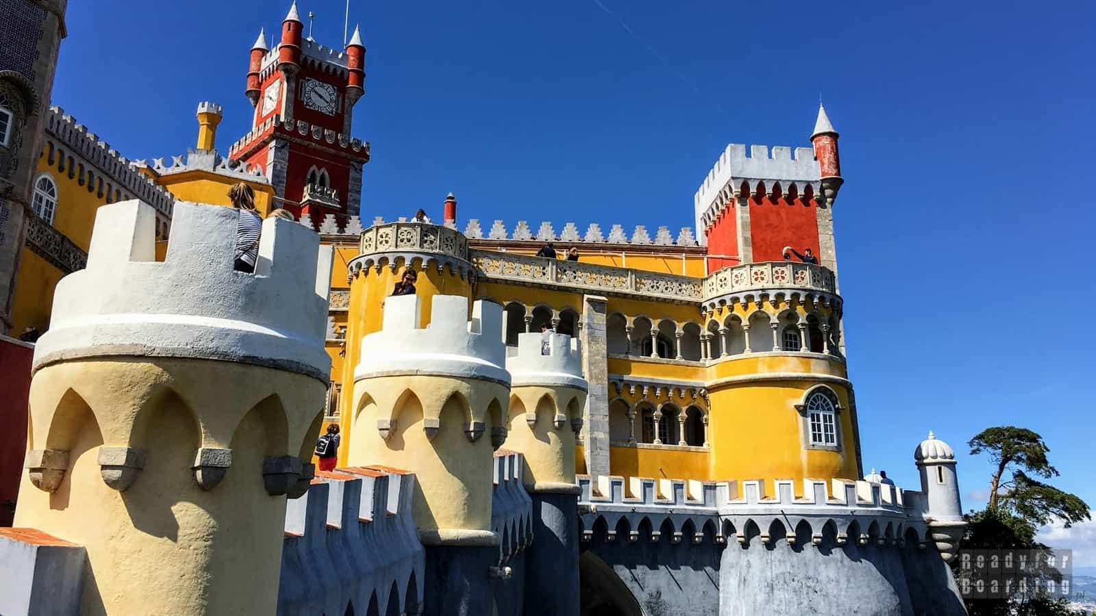 Portugalia - Sintra (galeria zdjęć)