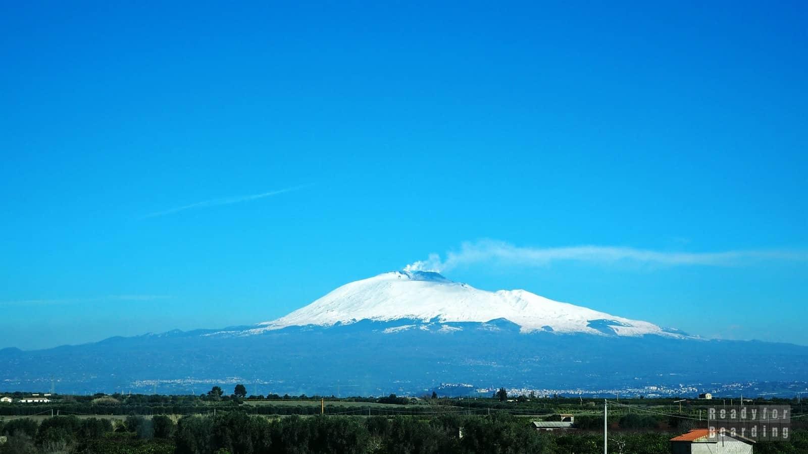 Sycylia - Wulkan Etna (galeria zdjęć)