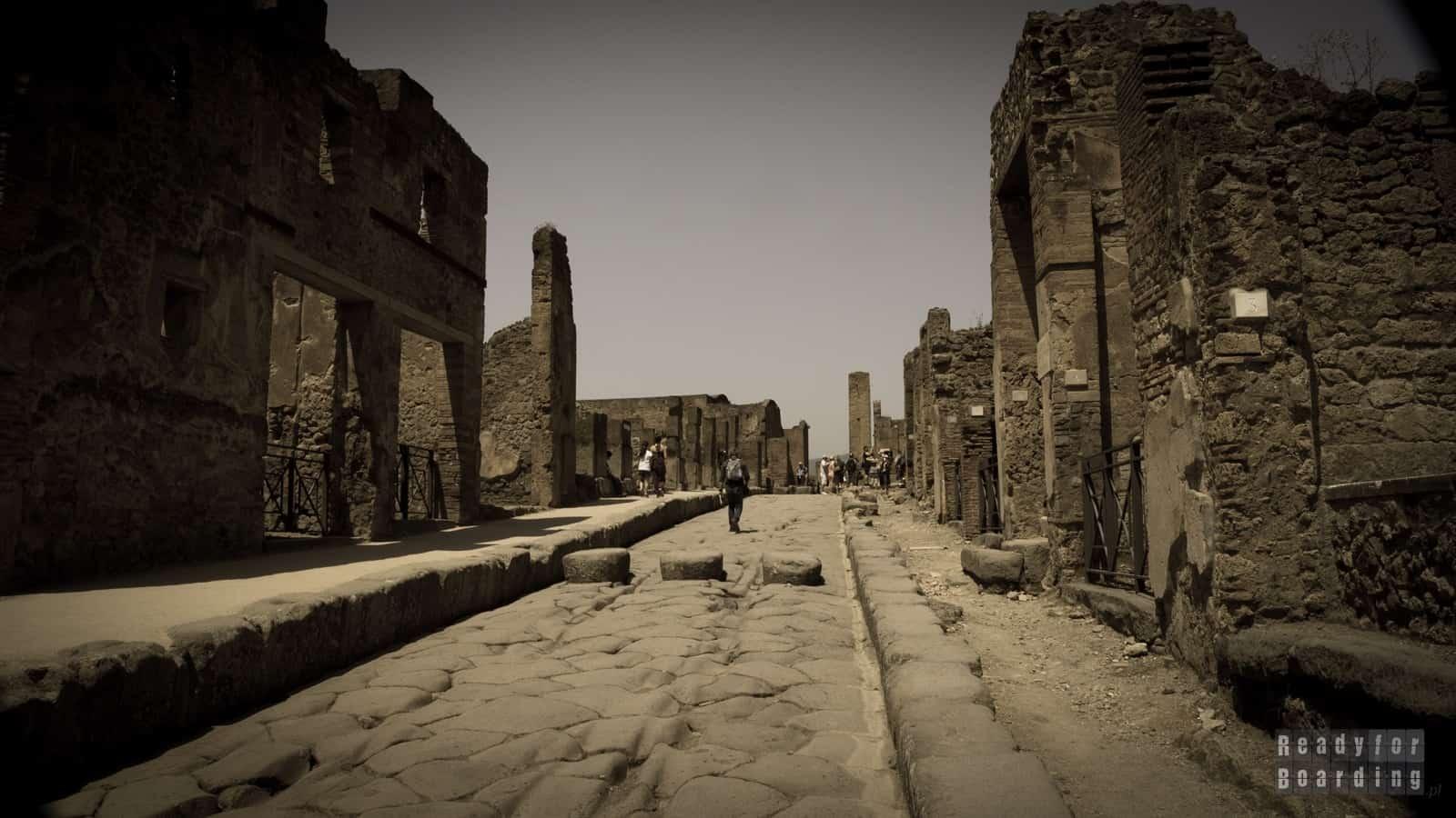 Pompeje, Neapol