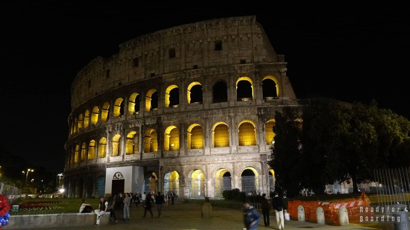 Włochy - dzień 6 nocą