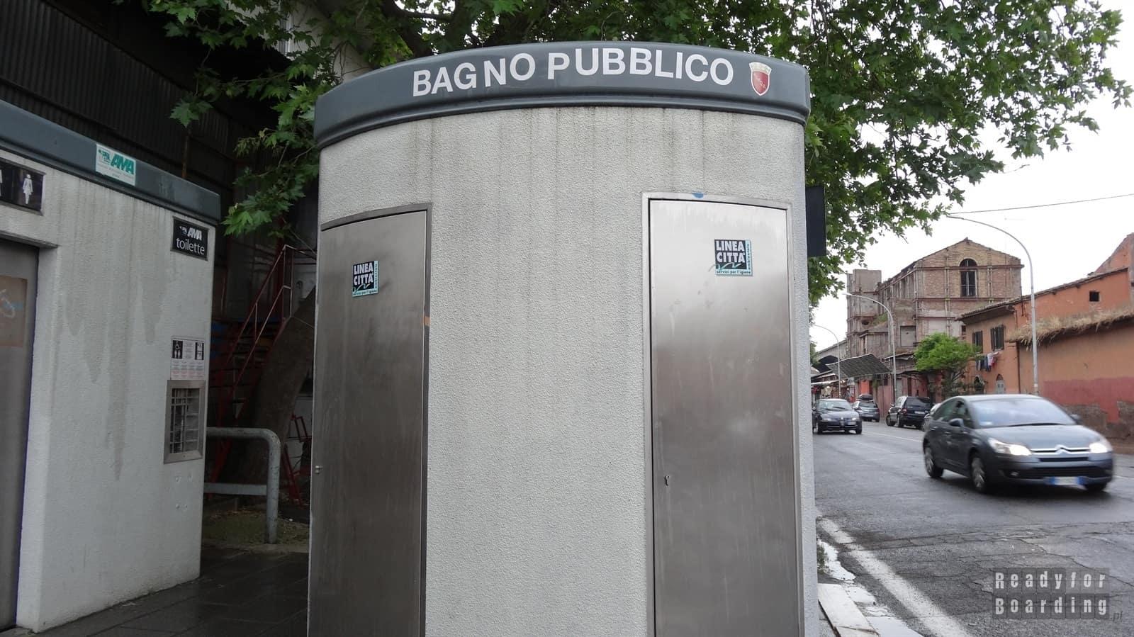 Bagno Pubblico, czyli toaleta miejska :-)