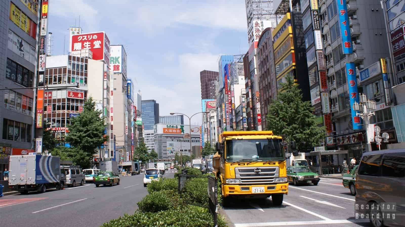 Japonia - dzień 1