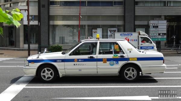 Japonia, Tokio - tokijska taksówka