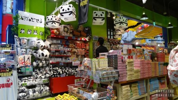 Yokohama - Chinatown, sklep z pandami