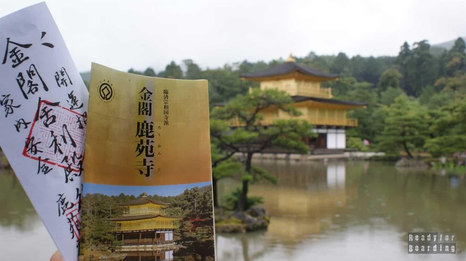 Kioto - Kinkakuji (Golden Pavilion)