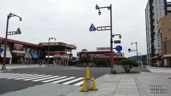 Miyajima - prom JR do Itsukushima Shrine