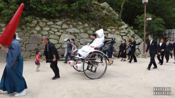 Japoński ślub w Miyajima, Itsukushima Shrine