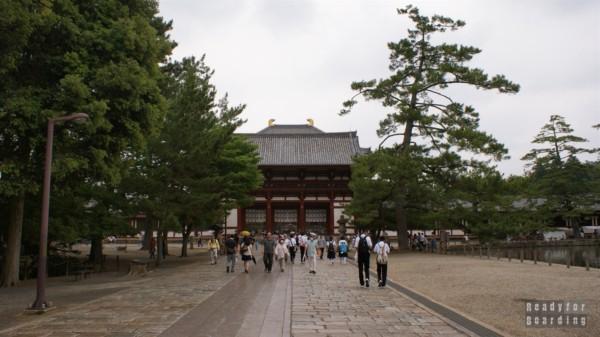 Świątynia Todaiji Temple w Nara