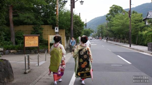Arashiyama w Kioto