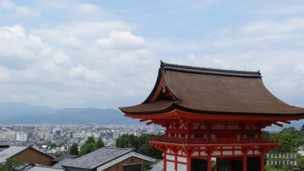 Kiyomizudera Temple, widok na Kioto