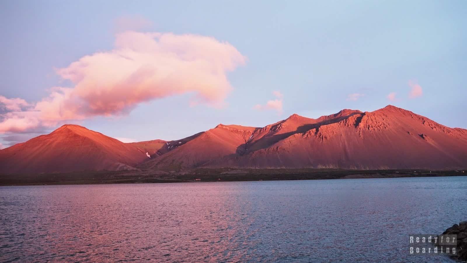 Islandia - w drodze do Borgarnes (galeria zdjęć)