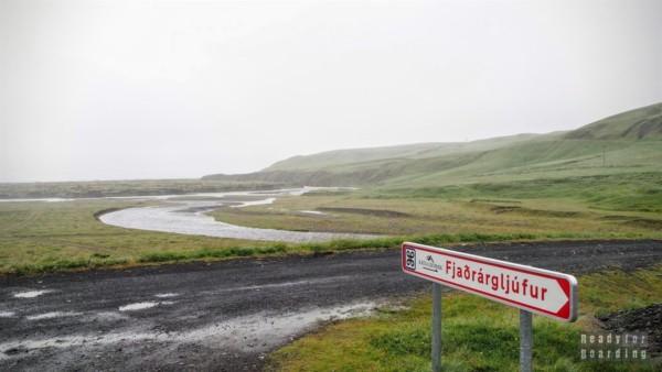 Droga do Fjaðrárgljúfur, Islandia