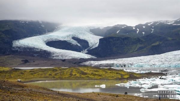Lodowiec Vatnajökull, Islandia