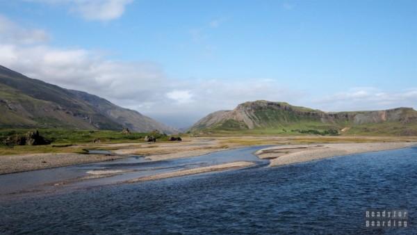Rzeka Laxa, Islandia
