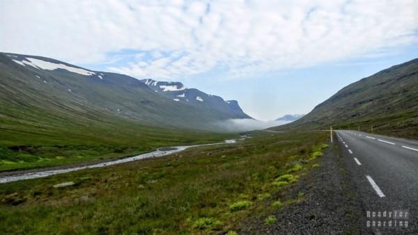 Islandia północna - Droga do Akureyri
