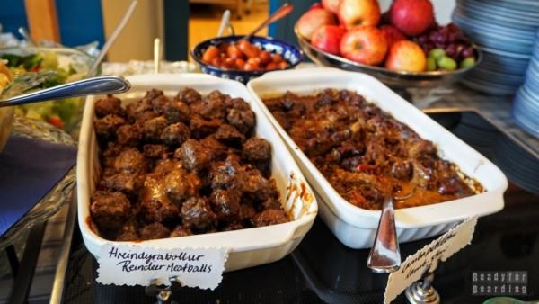 Klausturkaffi - bufet z islandzkim jedzeniem