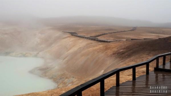 Leirhnjúkur, Islandia północna