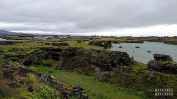 Jezioro Mývatn, Islandia północna