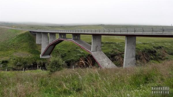 Wodospad Hengifoss - Islandia północna