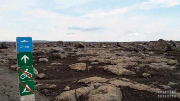 Wodospad Dettifoss - Islandia północna