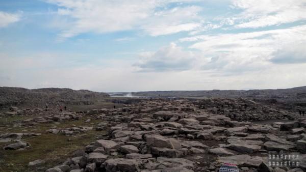 Wodospad Dettifoss i Selfoss - Islandia północna