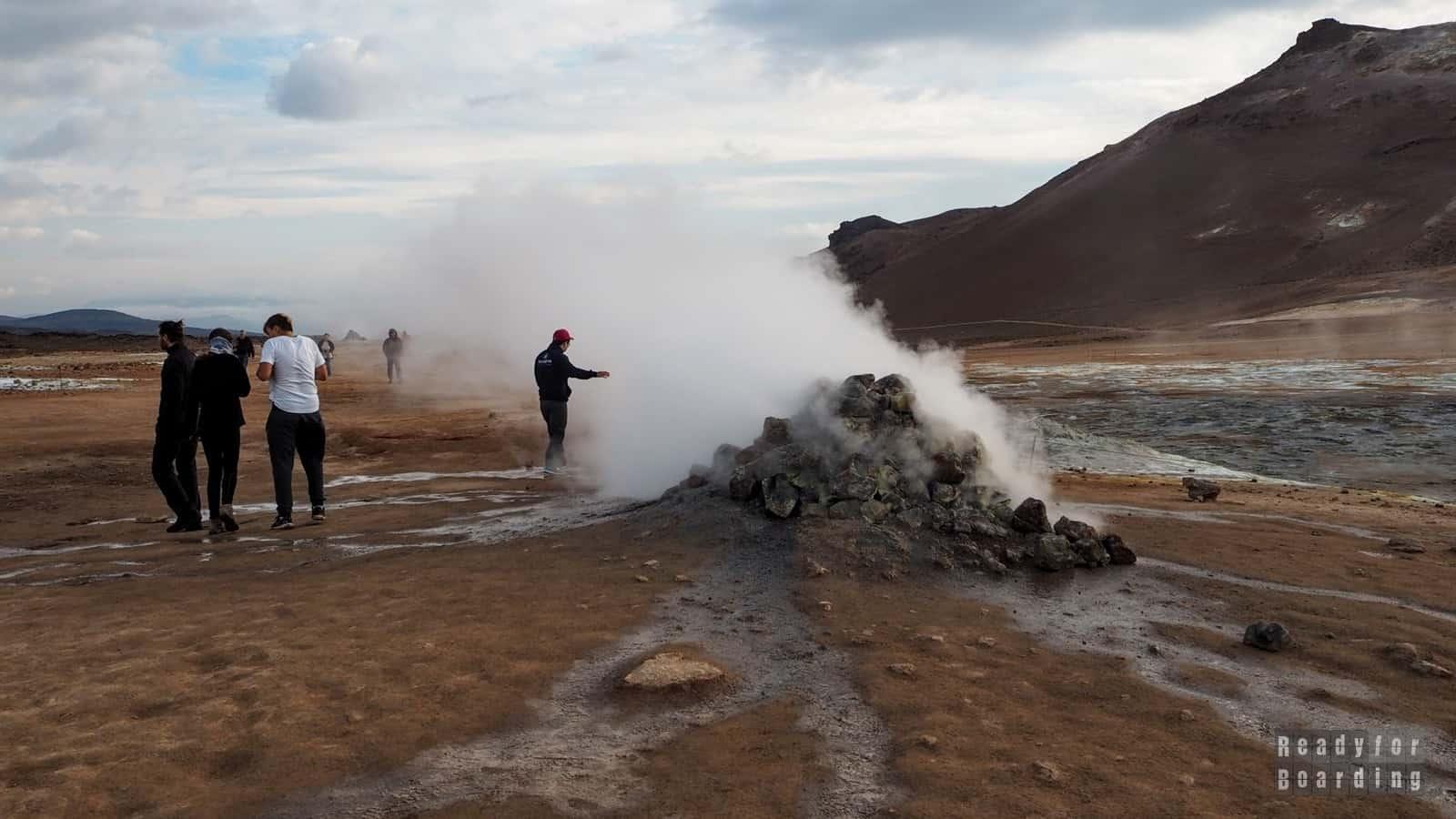 Islandia - kierunek Myvatn (galeria zdjęć)