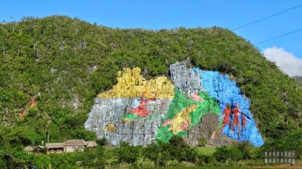 Mural de la Prehistoria, Vinales - Kuba
