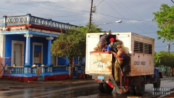 Transport publiczny - Vinales, Kuba