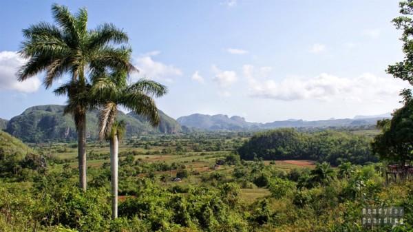 Widok na Valle de Vinales, Kuba