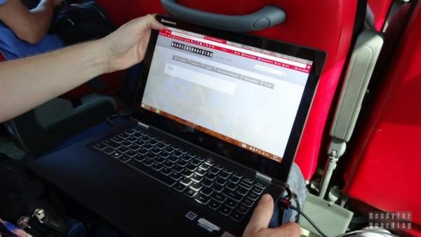 Kiepski internet w Polskim Busie