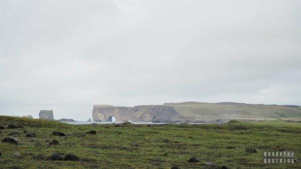 Klify Dyrhólaey - Islandia