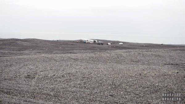 Wrak amerykańskiego samolotu - Islandia