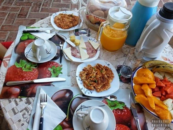 Smaczne jedzenie w Casa Particular - Trinidad