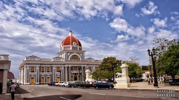 Parque Jose Marti w Cienfuegos - Kuba