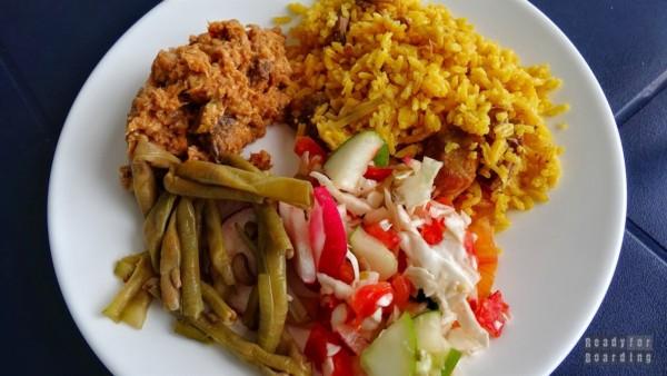 Bufet w Caleta Buena - Kuba