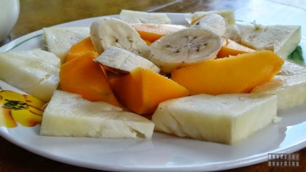 Śniadanie w Playa Larga - Kuba