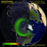 Jak czytać prognozę zorzy polarnej (na Islandii)?