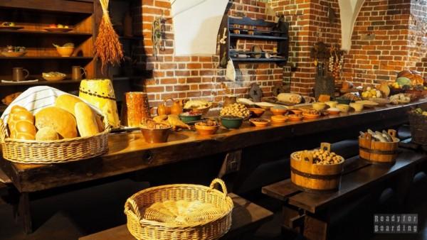 Malbork - Kuchnia konwentu