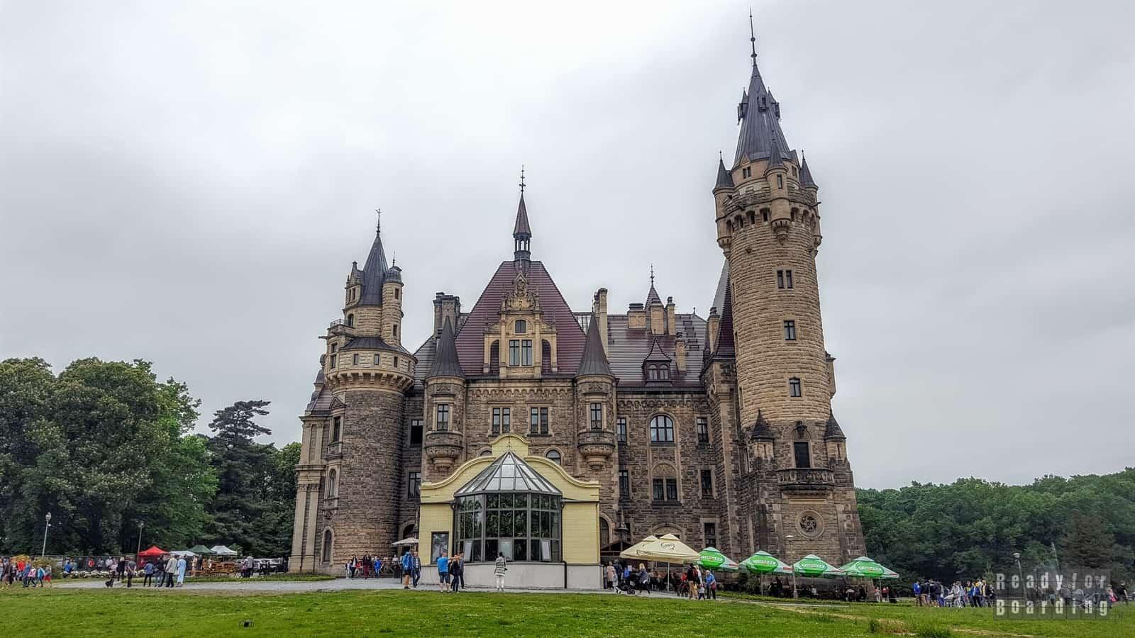 Zamek w Mosznej (galeria zdjęć)