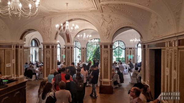 Restauracja w Pałacu w Mosznej