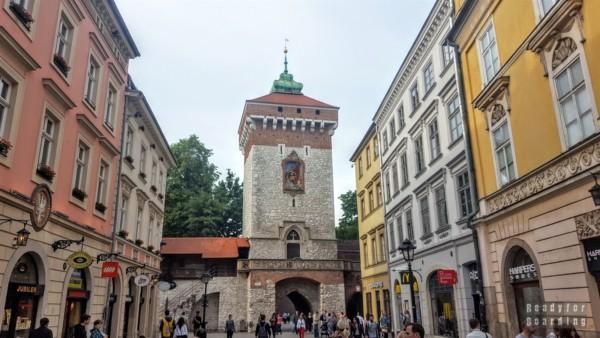 Brama Floriańska, Kraków